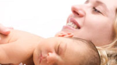 Bébé stressé à la maternité