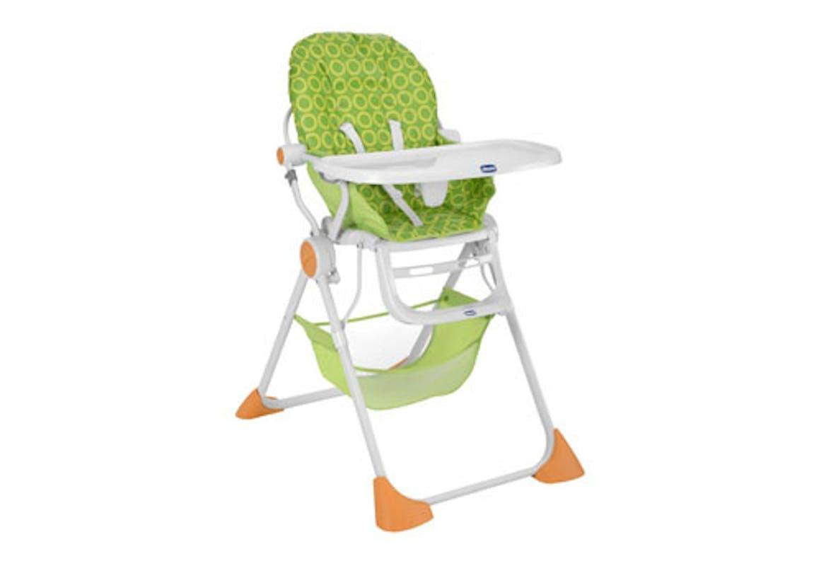 Chaise haute pratique