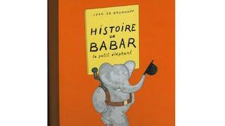 Album illustré « Histoire de Babar »