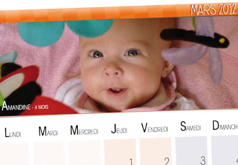 Amandine, 4 mois