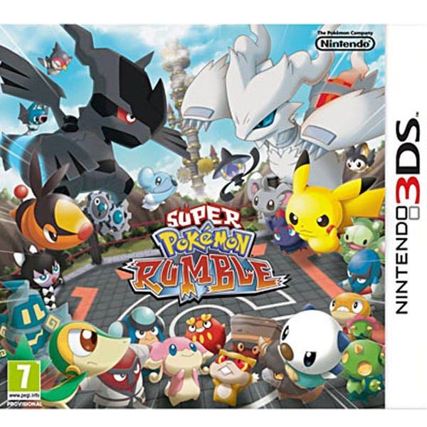 Super Pokémon Rumble sur 3DS