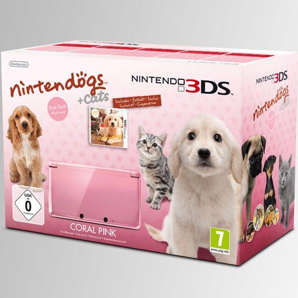 Coffret Nintendogs et Cats sur 3DS