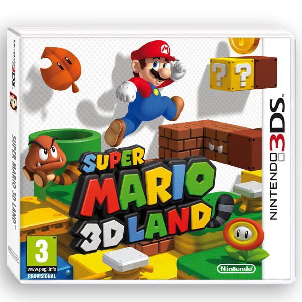 Super Mario 3D Land sur DS
