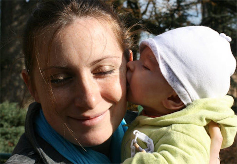 Krol1210 et sa fille Chloé (2 mois)