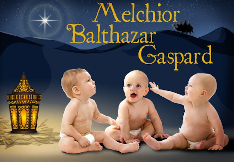 Balthazar, Melchior et Gaspard