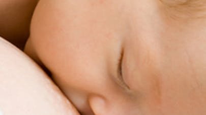 Bébés allaités en bonne santé
