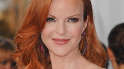 "Marcia Cross, ""desperate mum """
