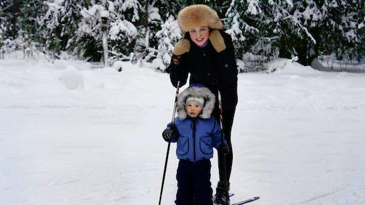 Le ski de fond pour les enfants