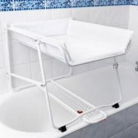 Plan à langer de baignoire