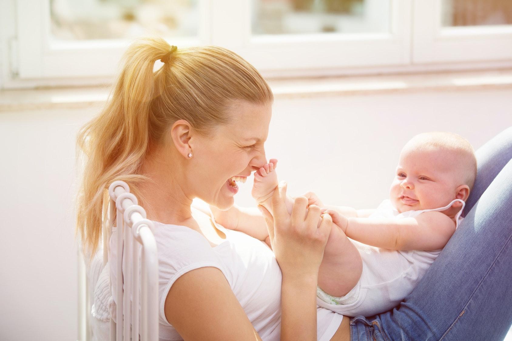 Bébé a 5 mois