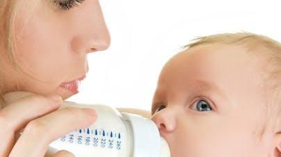Lait pour Bébé mieux étiqueté
