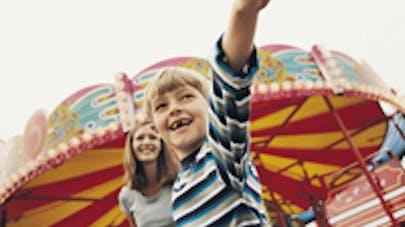 Les bulles gonflables géantes dangereuses pour les   enfants