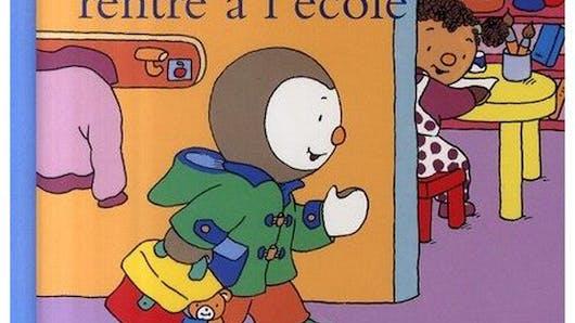 T'choupi rentre à l'école