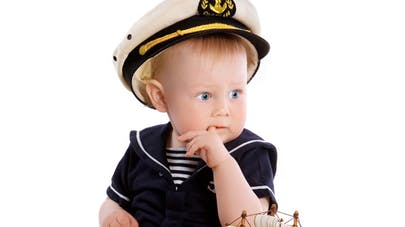 Bébé en bateau