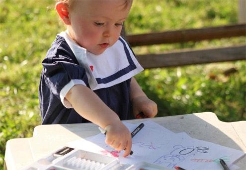 Concours photo « Bébé, cet artiste ! » : les 10   gagnants