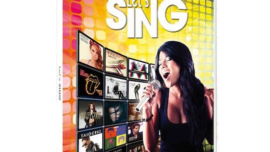 Let's Sing sur Wii