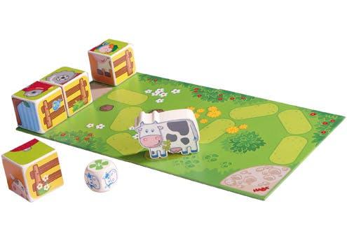 Cubes-puzzles la vache Carola