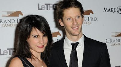 Romain Grosjean et Marion Jollès Grosjean bientôt   parents