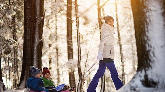 Les stations de ski familiales