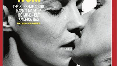 Mariage gay au USA : le Time a choisi son camp