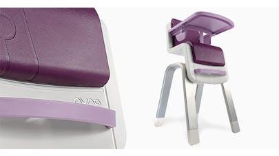 chaise haute zaaz pu riculture parents. Black Bedroom Furniture Sets. Home Design Ideas