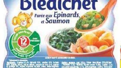Rappel d'un plat Blédichef
