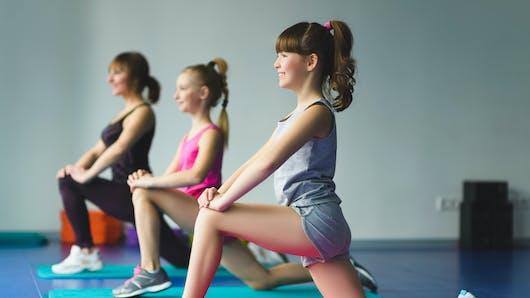 La méthode Pilates pour les enfants