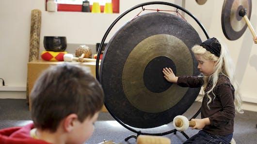 Des ateliers pour enfants à la Cité de la Musique