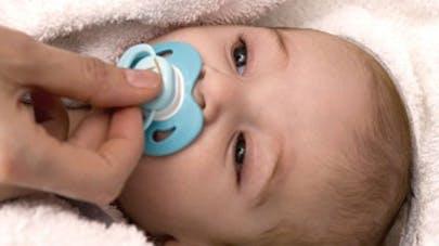 La tétine, utile pour booster le système immunitaire du   bébé