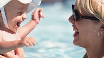 Allergie : risque accru pour les bébés exposés au   chlore