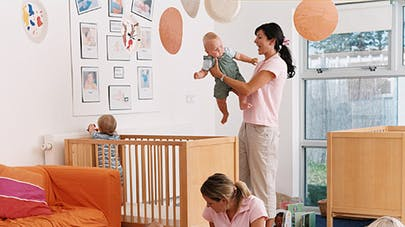 La crèche d'entreprise, plébiscitée par les  parents