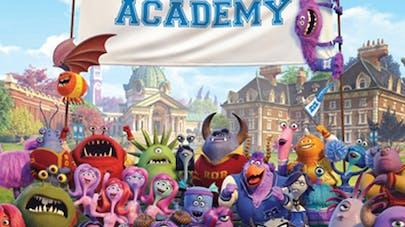 Monstres Academy: film de campus version gluante