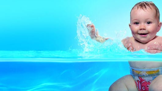 Activité aquatique : les bébés aiment l'eau !