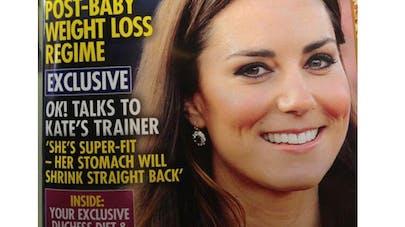 Royal Baby : une couverture de OK ! Magazine fait   scandale