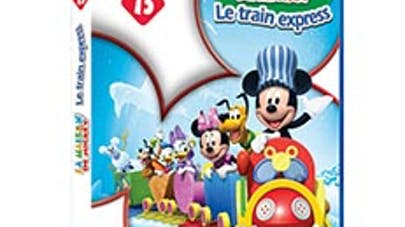 En cadeau avec le mag, un DVD Disney