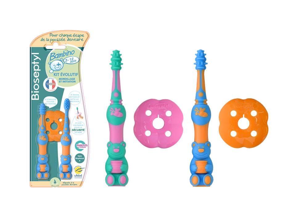 Brosse à dents Bambino 3-12 mois de BIOSEPTYL