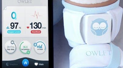 Une chaussette high-tech pour prévenir la mort subite du   nourrisson