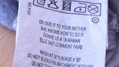 Une mention sexiste sur des étiquettes IKKS
