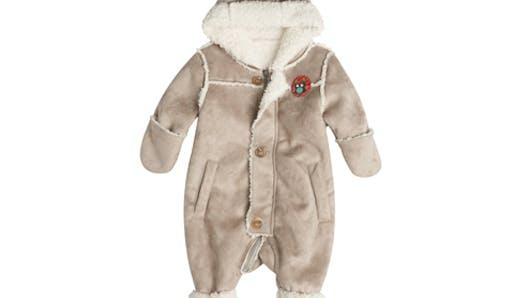 Mode bébé 2013 : 15 manteaux chauds et douillets