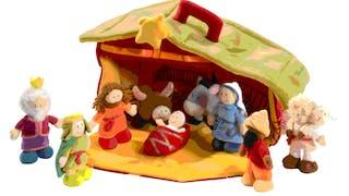 Crèche de Noël Lilliputiens
