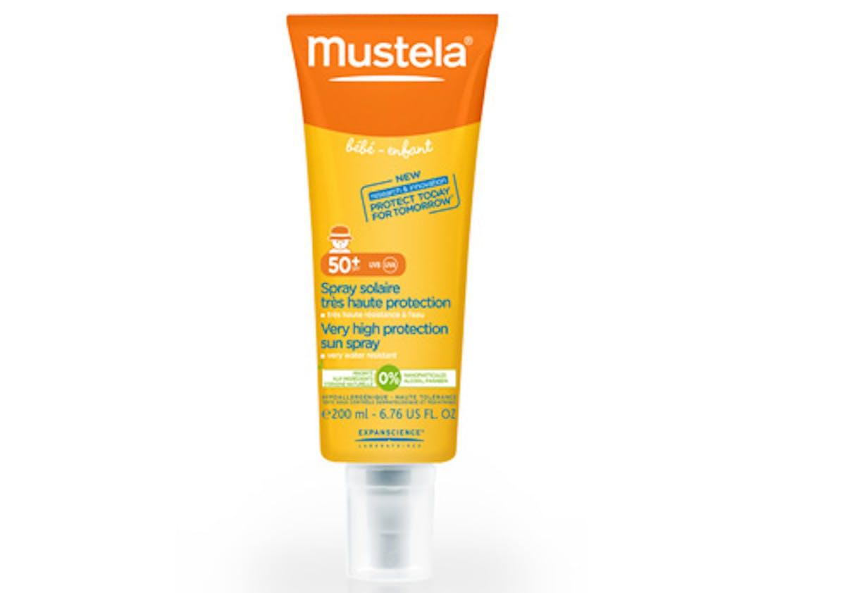 Lait solaire très haute protection bébé-enfant de       Mustela