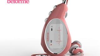 MP3 Beforme : pour écouter et lire les battements de       cœur du fœtus