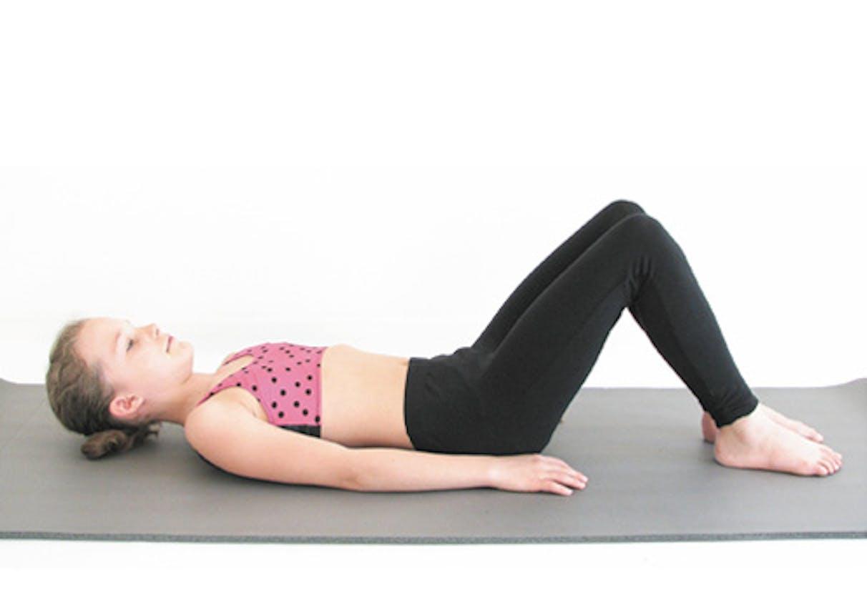 Mouvement 1 : couché sur le dos