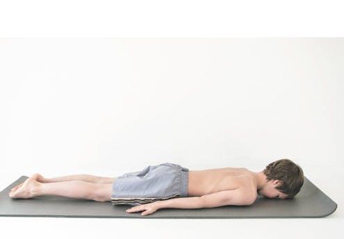Mouvement 3 : position plat ventre