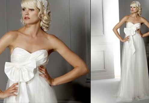 Robe de mariée glamour