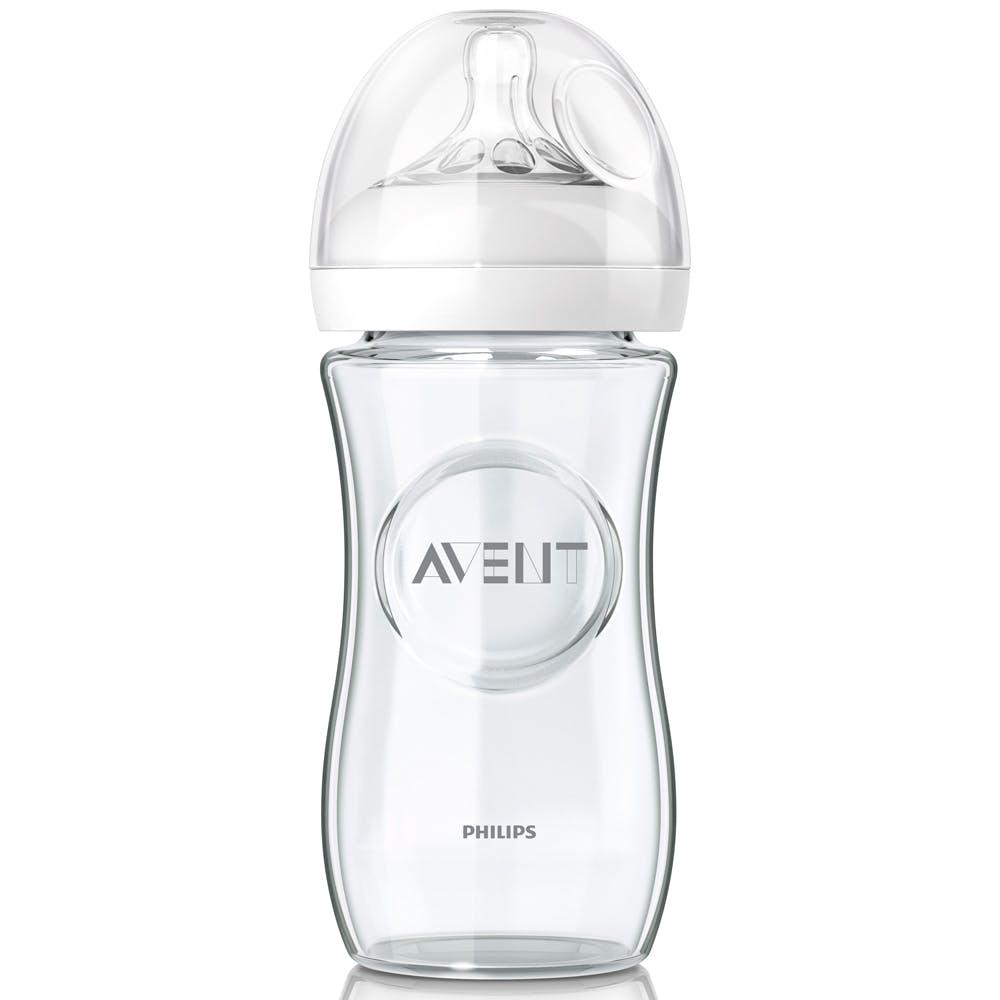Biberon en verre Natural de Philips Avent