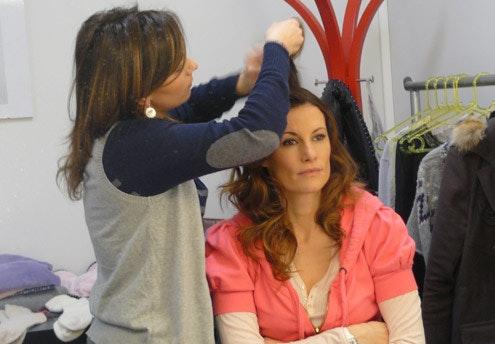 Après le maquillage… la coiffure