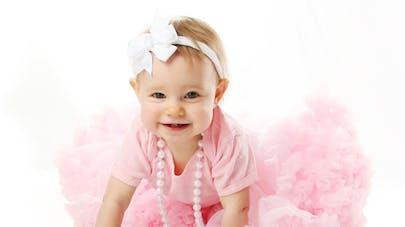 Ella Olivier, 9 semaines, est la mini-miss la plus jeune   du Royaume-Uni