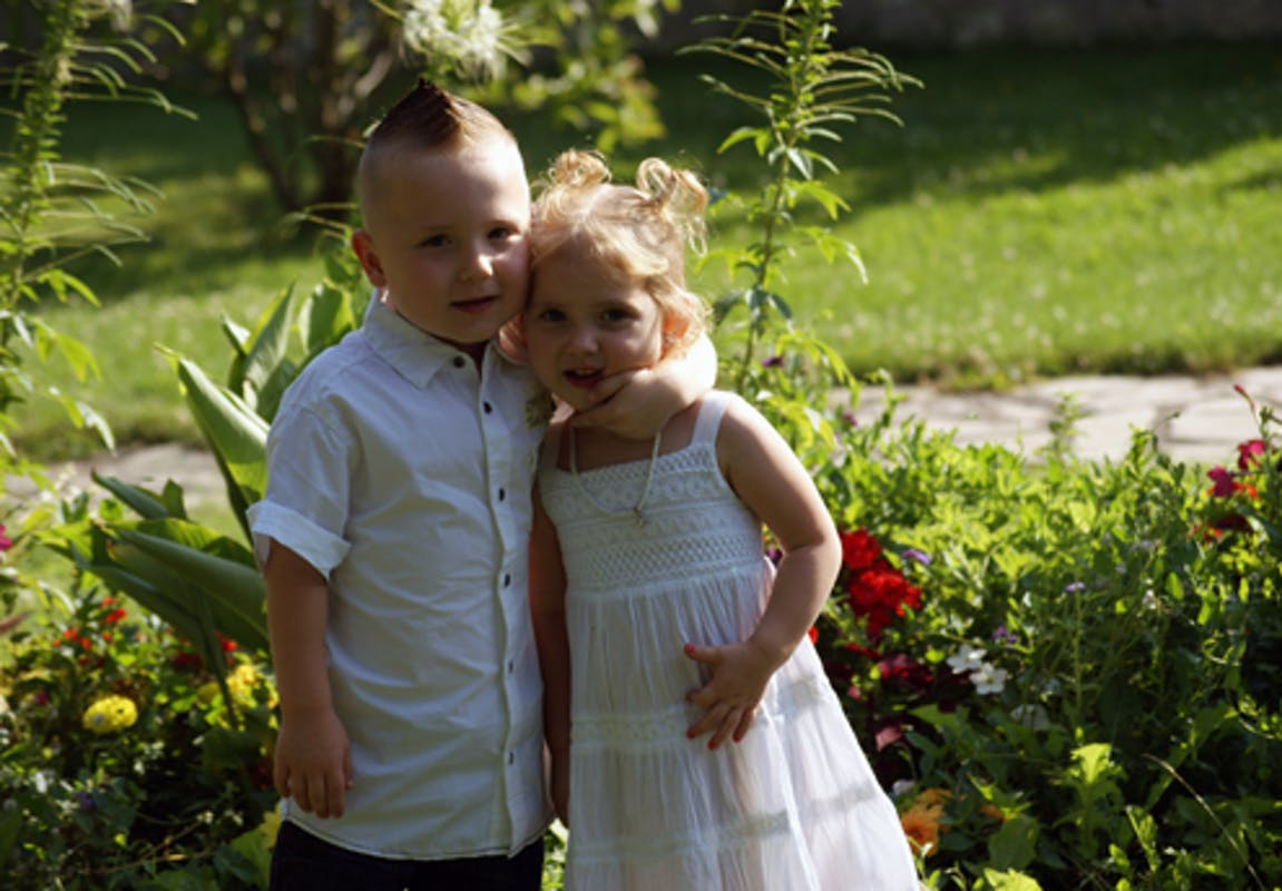 Keylhyan, 5 ans, et Haydhenn, 3 ans et demi