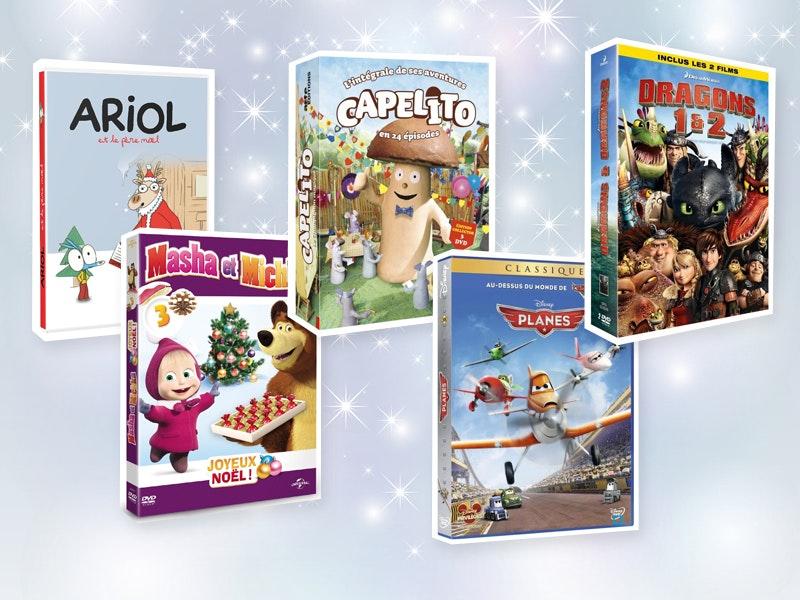 DVD et Blu-Ray à offrir aux enfants à Noël